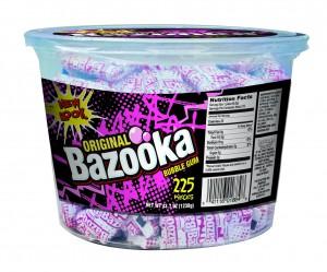 Bazooka Original 225 ct. Tub