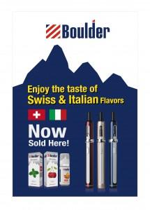 Boulder Promotional Window Sign