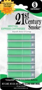 21st Express Cartridges Menthol 6pk