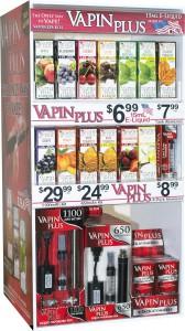 Vapin Plus 3-Tier Pre-Pack Display