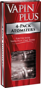 Vapin Plus Atomizer 4-Pack