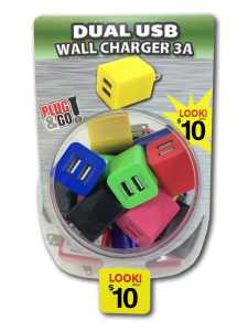 Tell Industries Dual USB Wall Charger