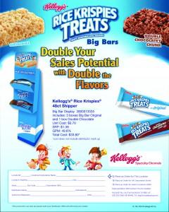 Kellogg's Rice Krispies BigBar Shipper May2015