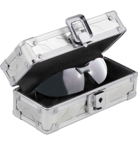 Locking Sunglass Case