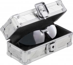 Ideastream Locking Sunglass Case