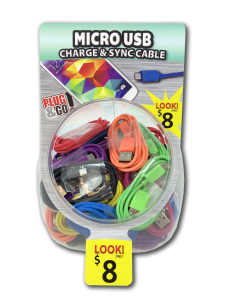 Tell Industries Micro USB Cable