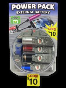 Tell Industries Power Pack External Battery