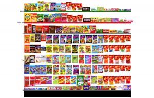 Candy Planogram 8x60